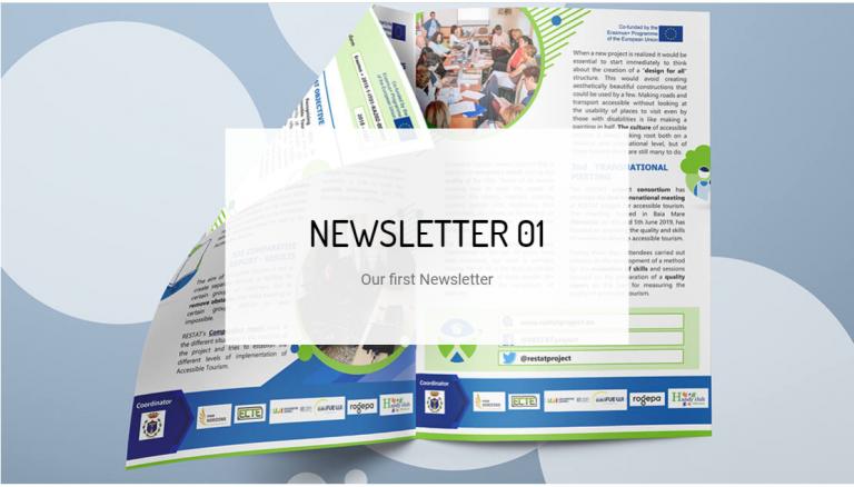 El proyecto europeo RESTAT se hace eco de los resultados obtenidos en su newsletter